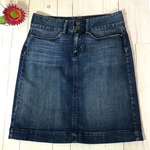 Banana Republic Denim Jean Skirt Size 2